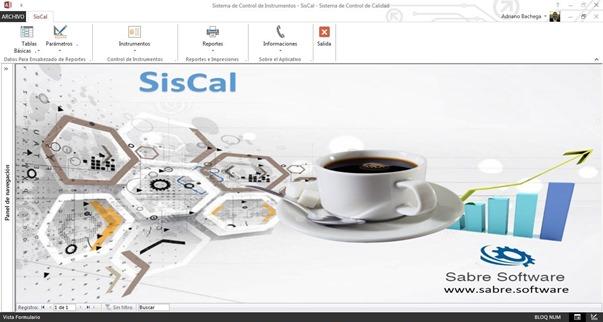 SisCal Pantalla Principal